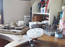 彫金作業机