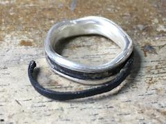 119.壊れたリングのお直しと磨き直しbefore