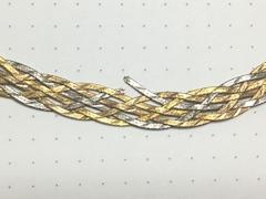 123.3ゴールドのオメガネックレスの修理before