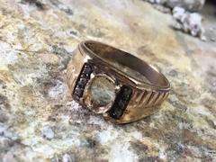 131.指輪の石の留め直しbefore
