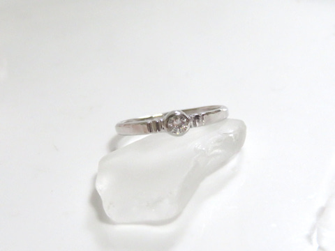 ダイヤモンドリングafter