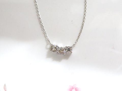 ダイヤモンドペンダントafter