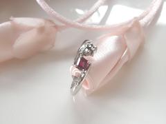 ルビーとダイヤモンドの指輪after