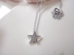 星モチーフペンダントafter