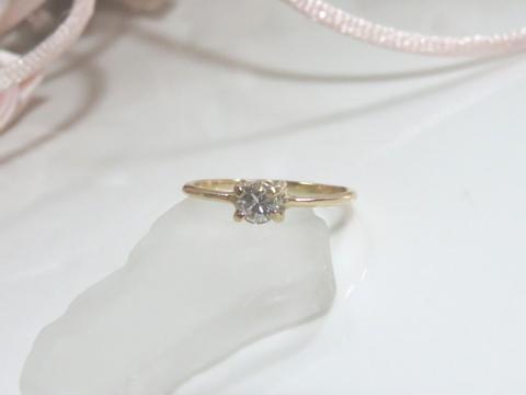 ダイヤモンド細リングafter