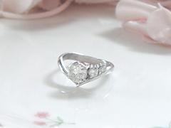ダイヤモンドの指輪after