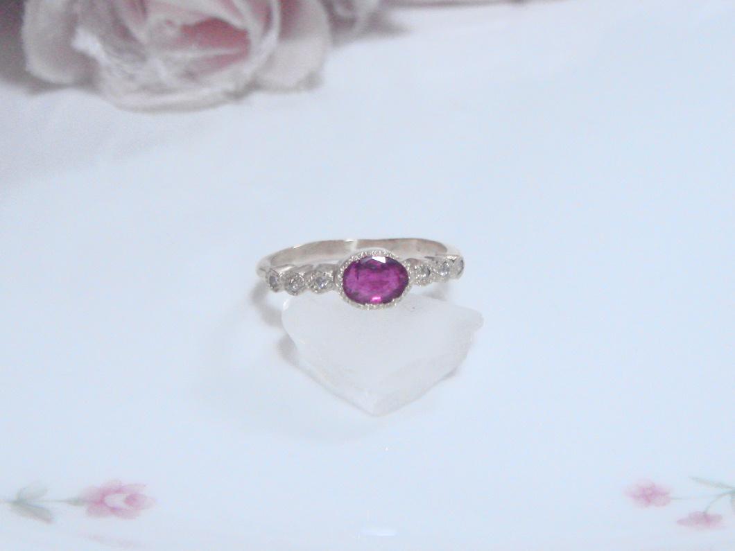 ルビー×ダイヤモンドリング