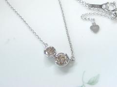 ダイヤモンドのペンダントafter