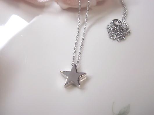 星モチーフペンダント
