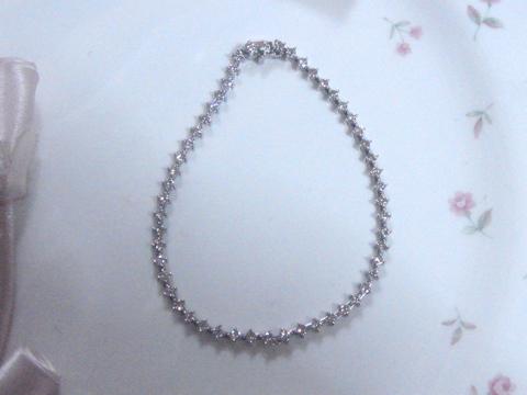 ダイヤモンドブレスレットafter
