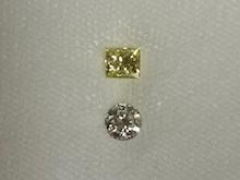 ダイヤモンドペンダントリフォーム前画像