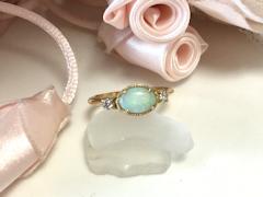 オパールの指輪after