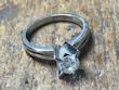 ダイヤモンドの指輪before