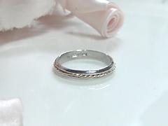 結婚指輪のアレンジafter