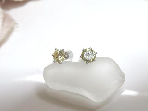 ダイヤモンドピアスafter