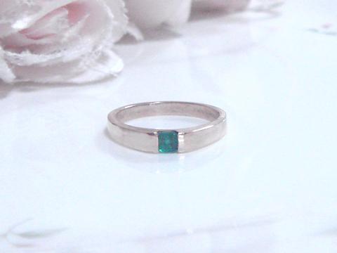 エメラルドの指輪after