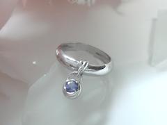 タンザナイトの指輪after