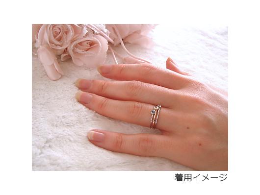 1.細リング CZ ホワイトサムネイル