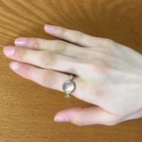 ムーンストーンの指輪 I・H様