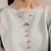 珊瑚のネックレス M・E様
